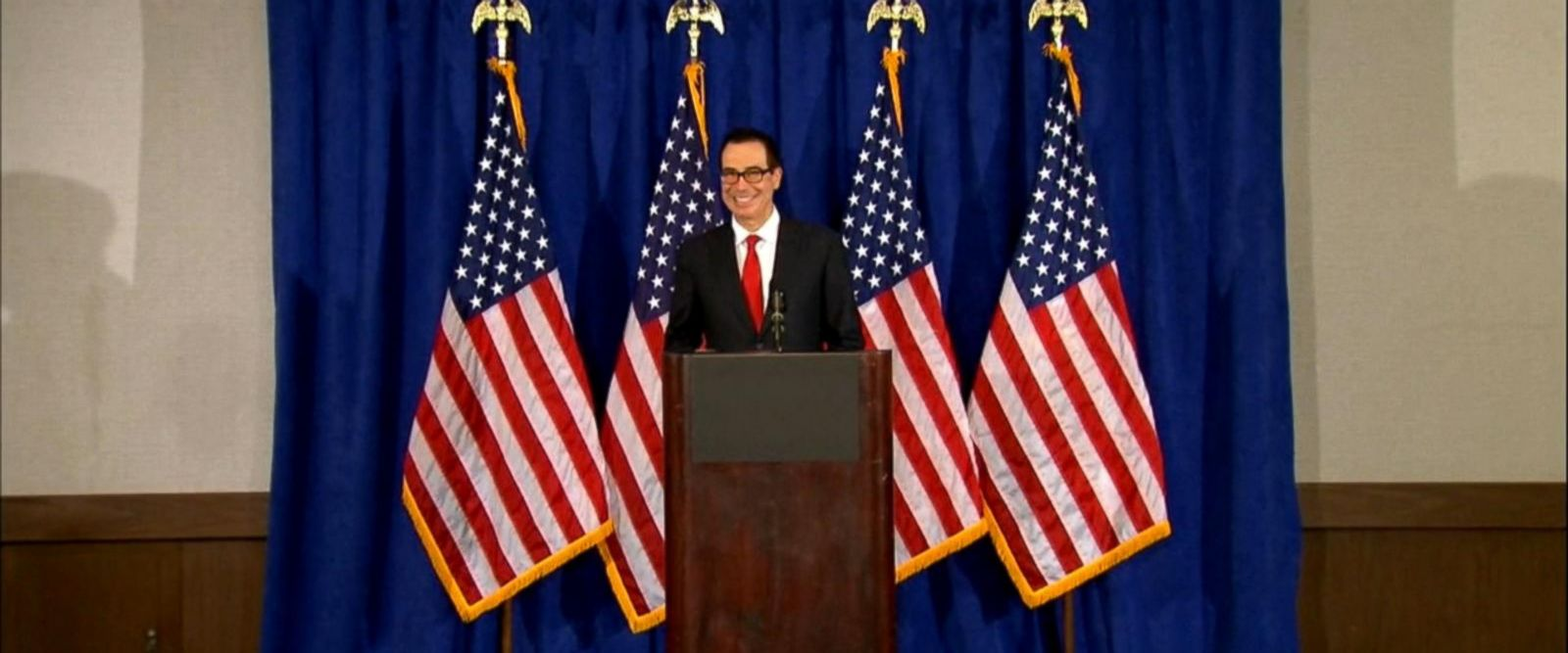 VIDEO: Treasury secretary under investigation for private plane use