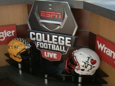 WATCH:  ESPN's College Game Day comes to Times Square