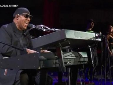 WATCH:  Stevie Wonder, Green Day and more play Central Park for Global Citizen festival