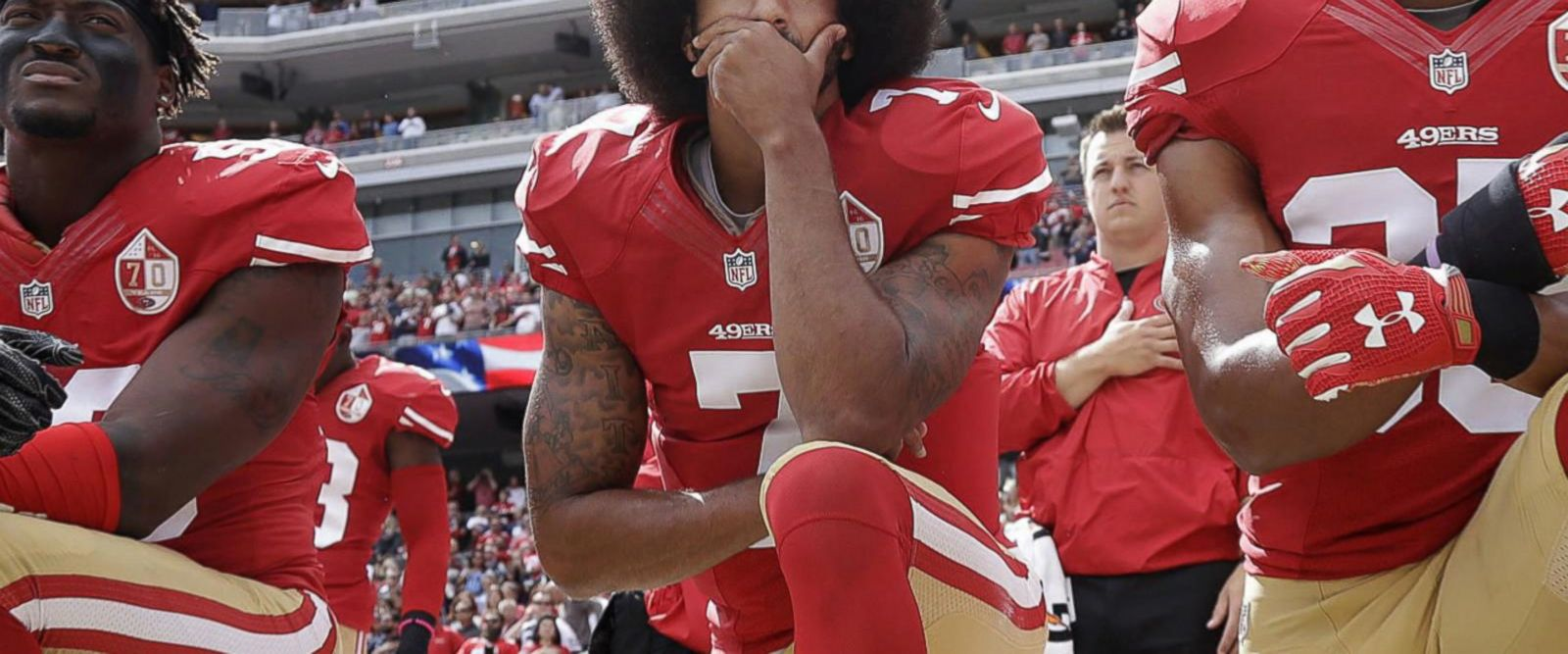 VIDEO: Colin Kaepernick remains unsigned amid national anthem controversy