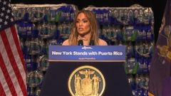 VIDEO: J.Lo donates $1M to hurricane relief efforts in Puerto Rico