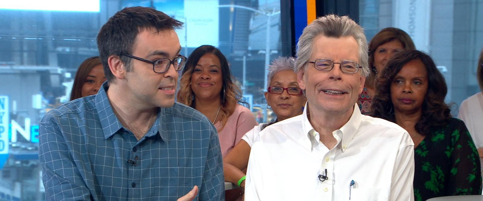 VIDEO: Stephen King and his son Owen King discuss their new novel, 'Sleeping Beauties'