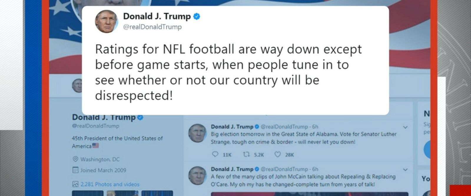 VIDEO: Trump faces backlash on Puerto Rico, NFL