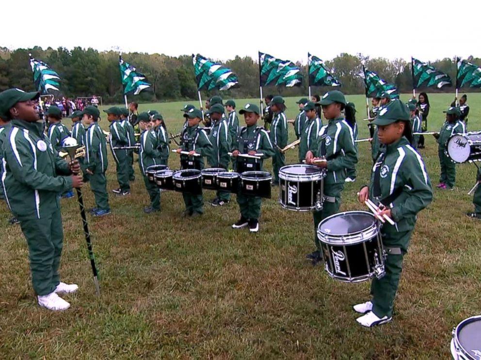 VIDEO: Elementary school drumline performs live on GMA