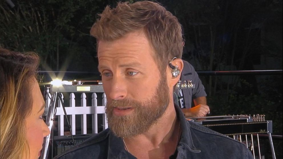 Catching Up With Dierks Bentley Live On Gma Video Abc News