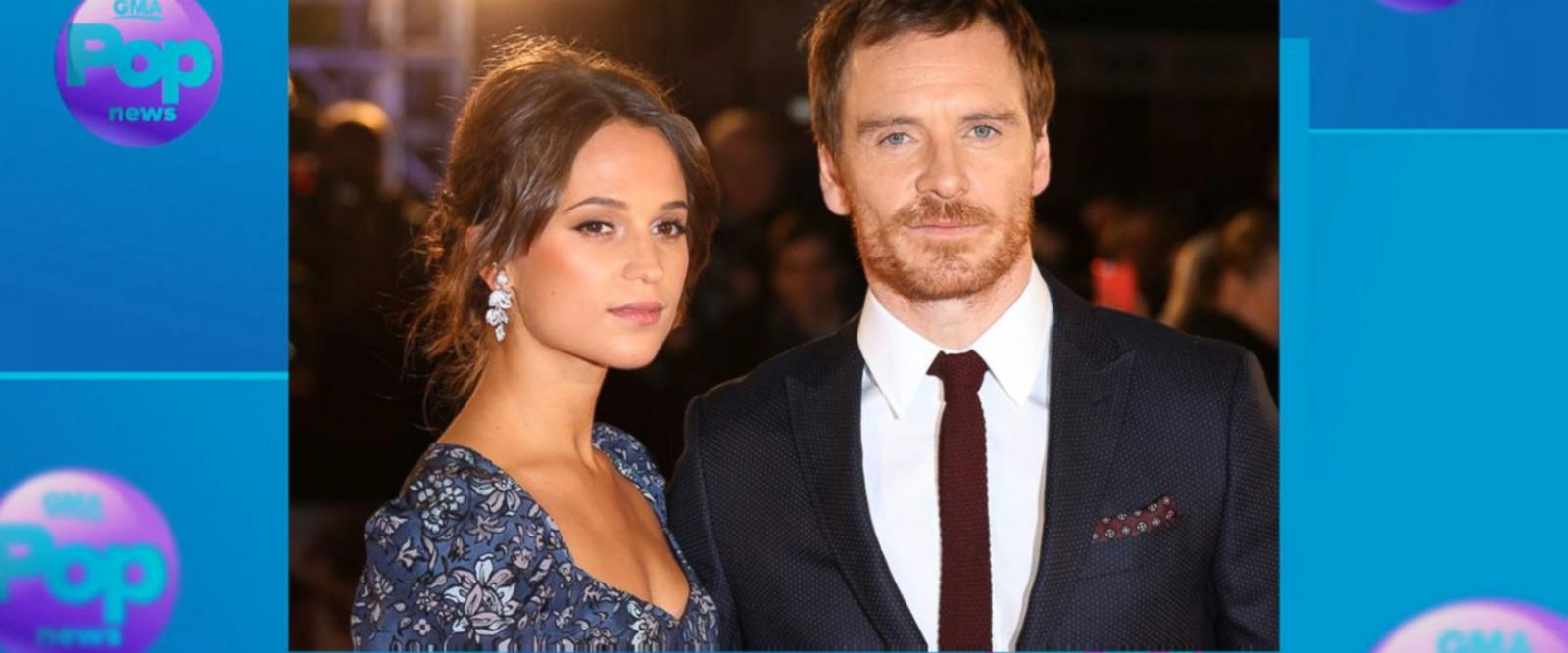 VIDEO: Michael Fassbender and Alicia Vikander reportedly tie the knot in Ibiza