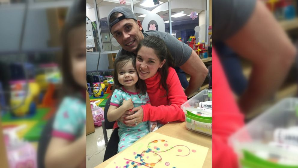 WATCH: Woman writes tribute to nurses caring for daughter with cancer