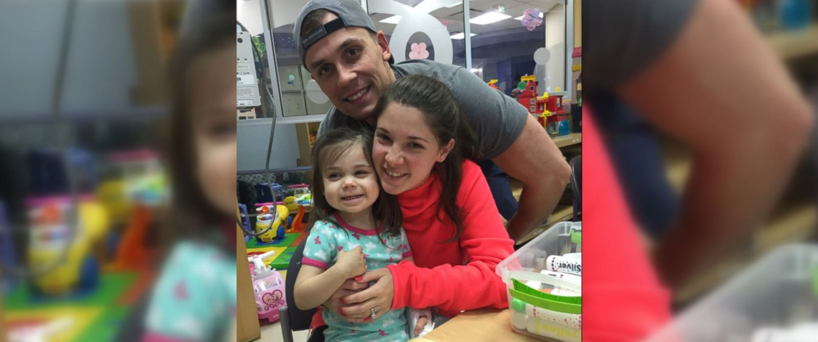 VIDEO: Shelby Skiles' 2-year-old daughter Sophie is receiving cancer treatments at Children's Medical Center Dallas.