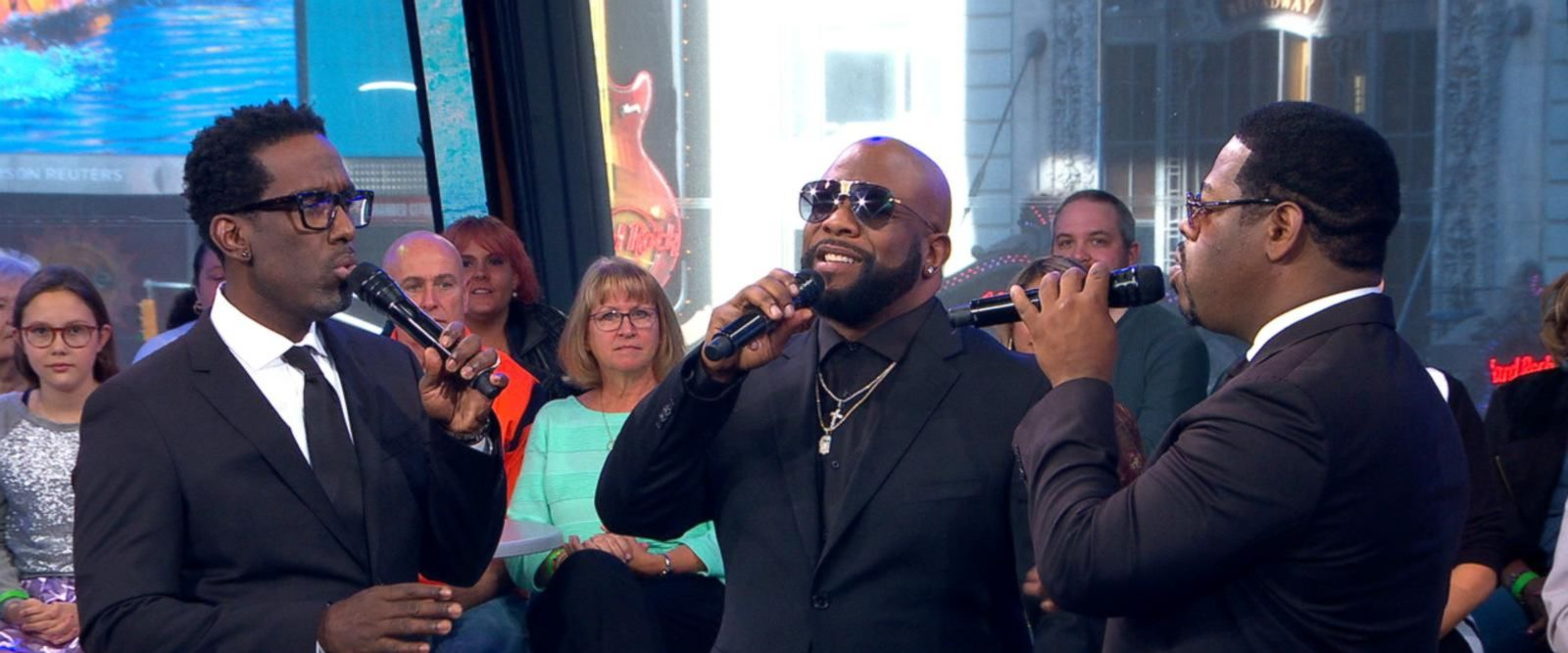 VIDEO: Boyz II Men performs 'It's So Hard to Say Goodbye to Yesterday'