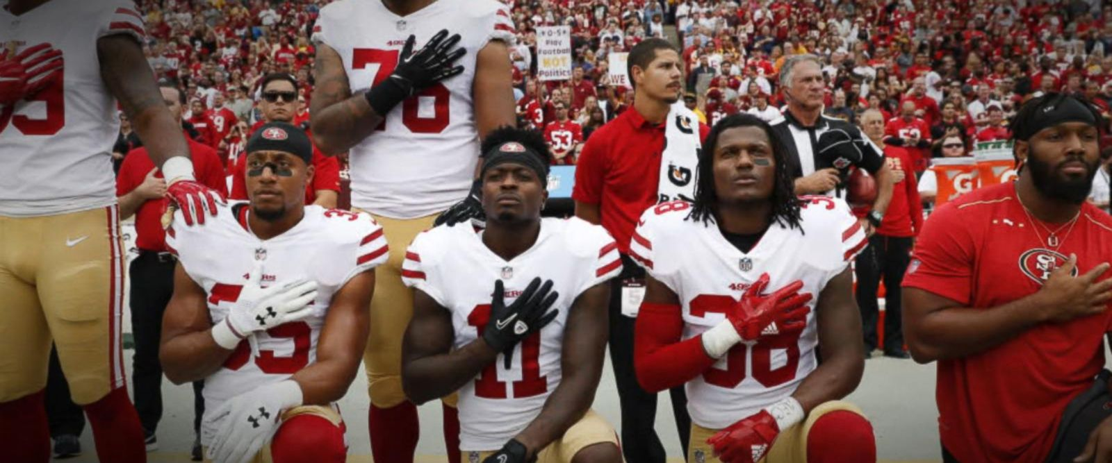 VIDEO: NFL players, team owners meet amid anthem controversy