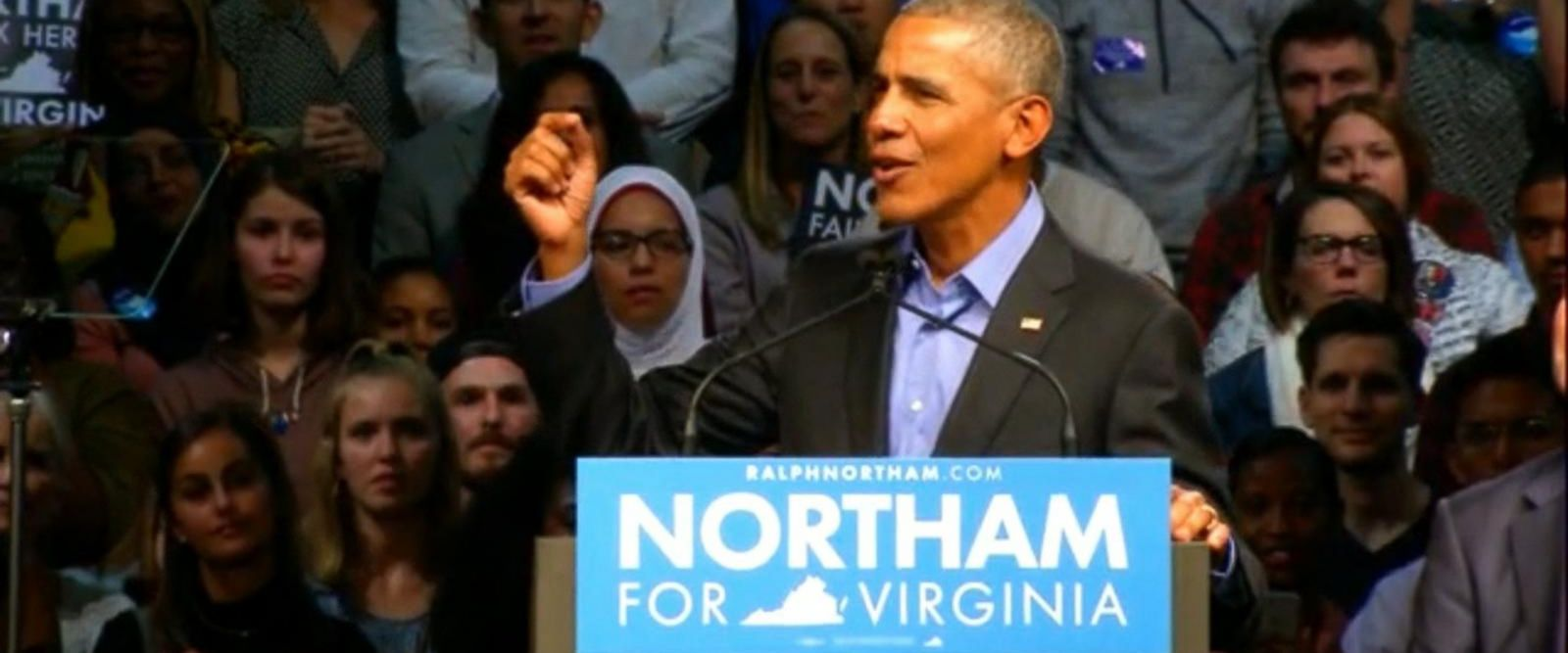 VIDEO: Obama, Bush address divisions in the US under Trump