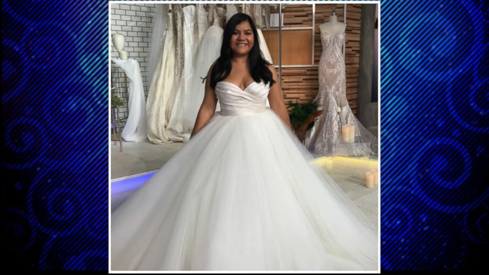 Bride gets dream wedding dress after gown was destroyed in bride gets dream wedding dress after gown was destroyed in hurricane harvey video abc news junglespirit Image collections