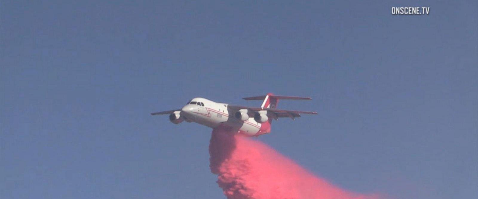 VIDEO: Wildfires spread as conditions worsen in California