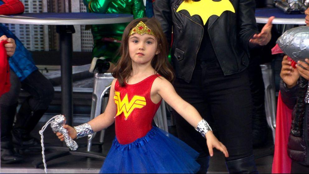last minute diy superhero costumes for kids video abc news. Black Bedroom Furniture Sets. Home Design Ideas