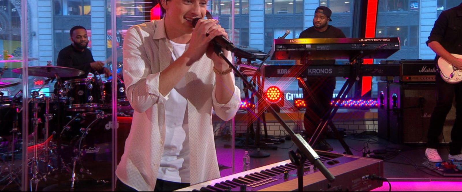 VIDEO: Charlie Puth performs 'Attention' on 'GMA'
