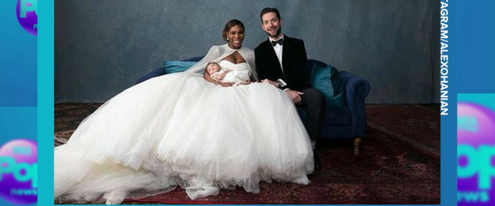 VIDEO: Serena Williams and Alexis Ohanian's fairy-tale wedding