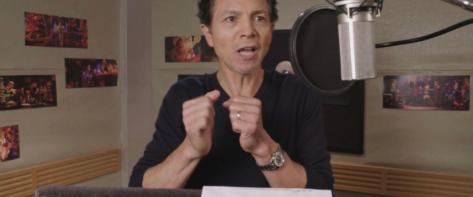 VIDEO: Benjamin Bratt says his new film 'celebrates this idea that we all come from somewhere'
