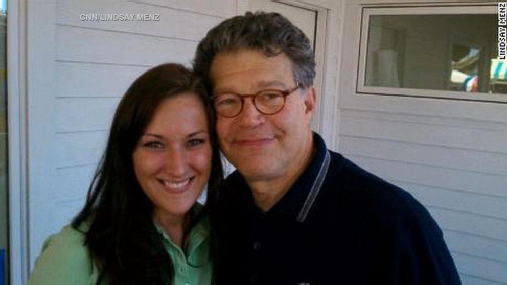 WATCH:  2nd woman accuses Sen. Al Franken of groping