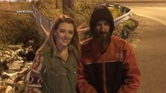 VIDEO: Young woman repays homeless veteran who used last $20 to buy her gas