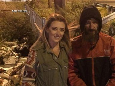 Woman raises over $160K for homeless veteran who spent last $20 to help her