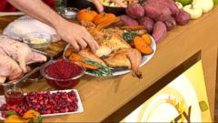 VIDEO: Pro Thanksgiving cooking tips from Eddie Jackson, Rocco DiSpirito and Sandra Lee