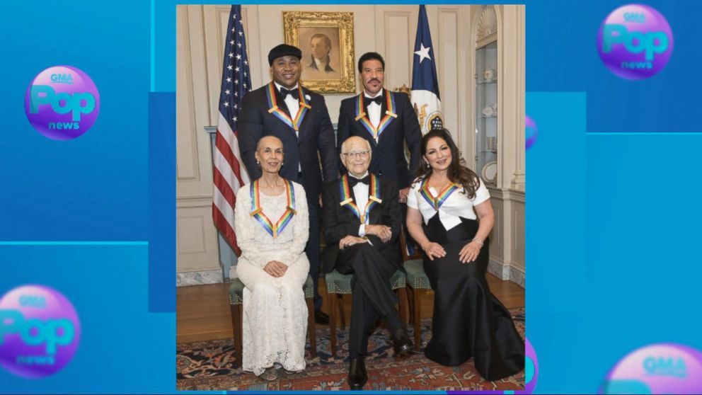Gloria Estefan, LL  Cool  J  recipients of Kennedy Center Honors