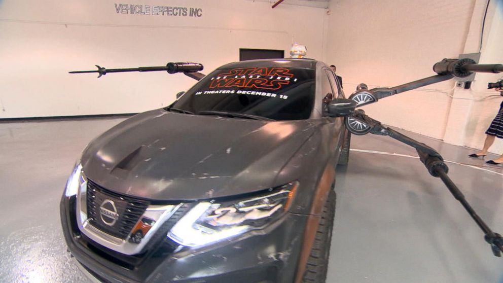 a look at the cars used in 39 star wars 39 at the la auto show. Black Bedroom Furniture Sets. Home Design Ideas