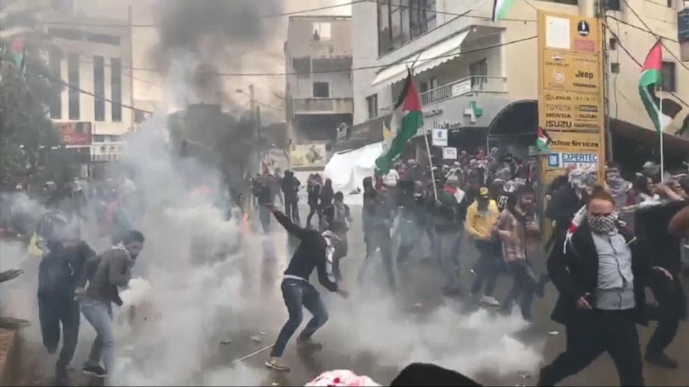 Middle  East  protests continue after Jerusalem announcement