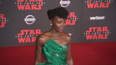 'VIDEO: On the red carpet for the premiere of the 'The Last Jedi'' from the web at 'http://a.abcnews.com/images/GMA/171210_gma_watt_16x9_384.jpg'