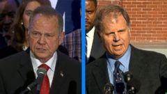 VIDEO: Trump records robocall for Moore in Senate race