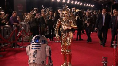 'VIDEO: Inside the 'Star Wars: The Last Jedi' premiere' from the web at 'http://a.abcnews.com/images/GMA/171211_gma_watt2_16x9_384.jpg'