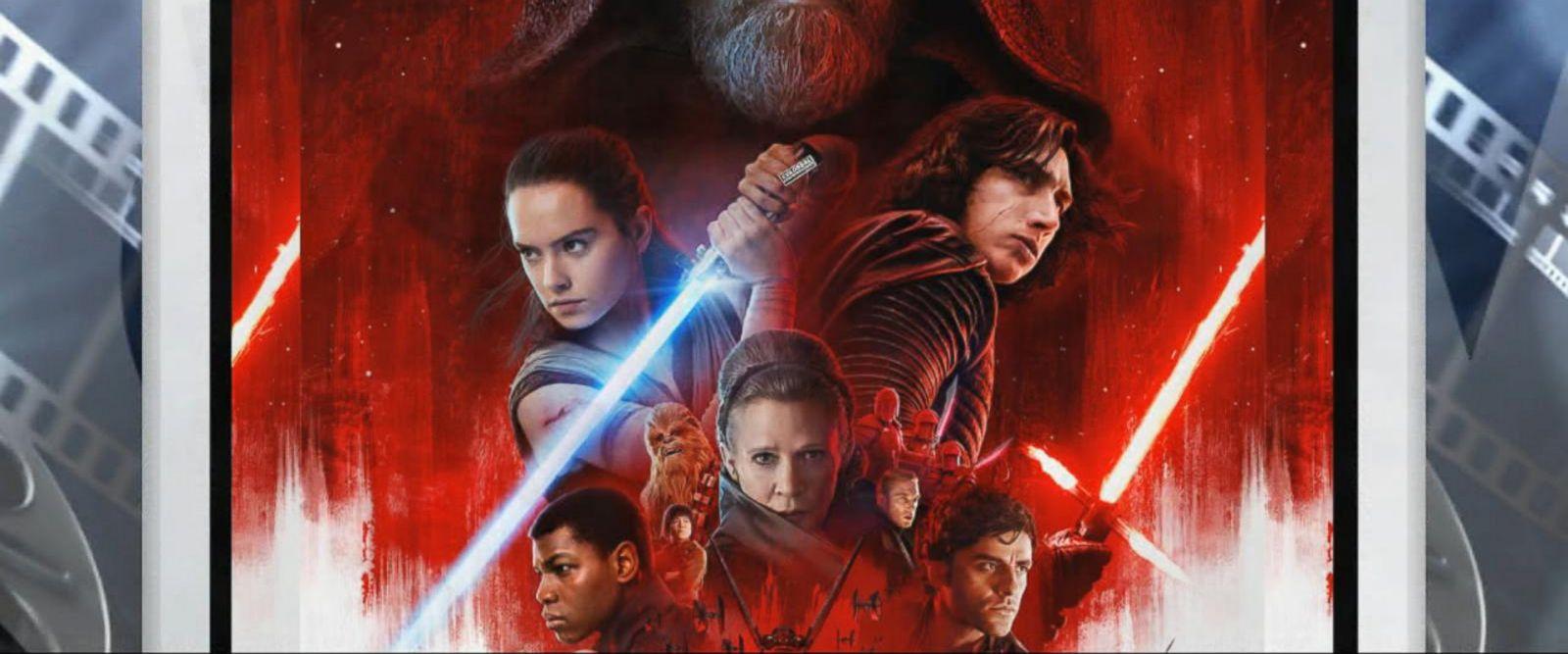 VIDEO: Princes William, Harry attend 'Star Wars: The Last Jedi' premiere