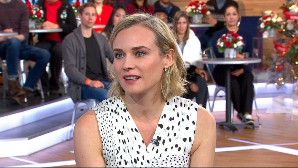 Video: Diane Kruger says she got a tattoo after losing bet to 'In the Fade' director
