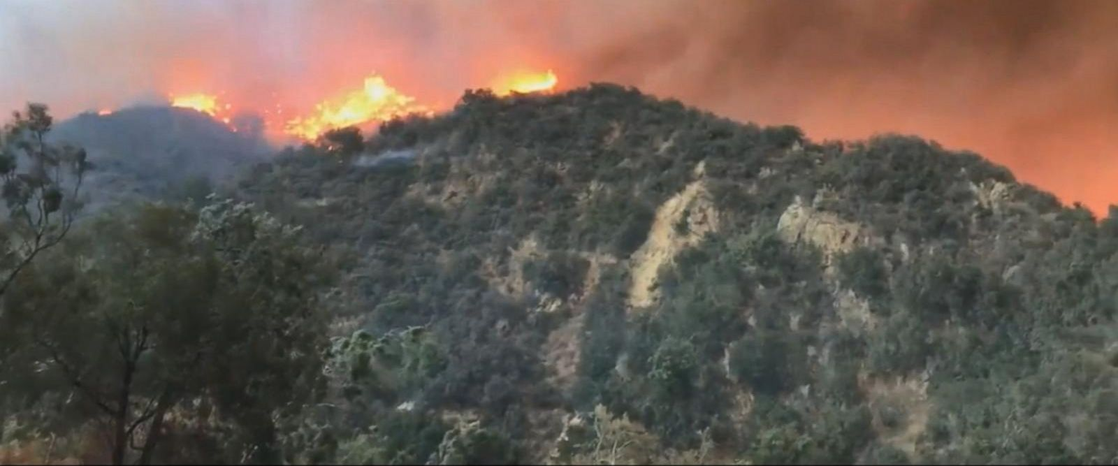 VIDEO: California's largest wildfire continuing to spread, forcing evacuations