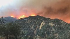VIDEO: Californias largest wildfire continuing to spread, forcing evacuations