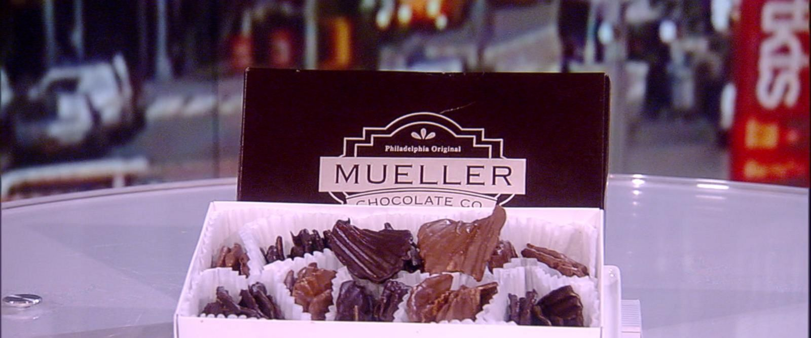 VIDEO: Unique chocolate-covered delicacies