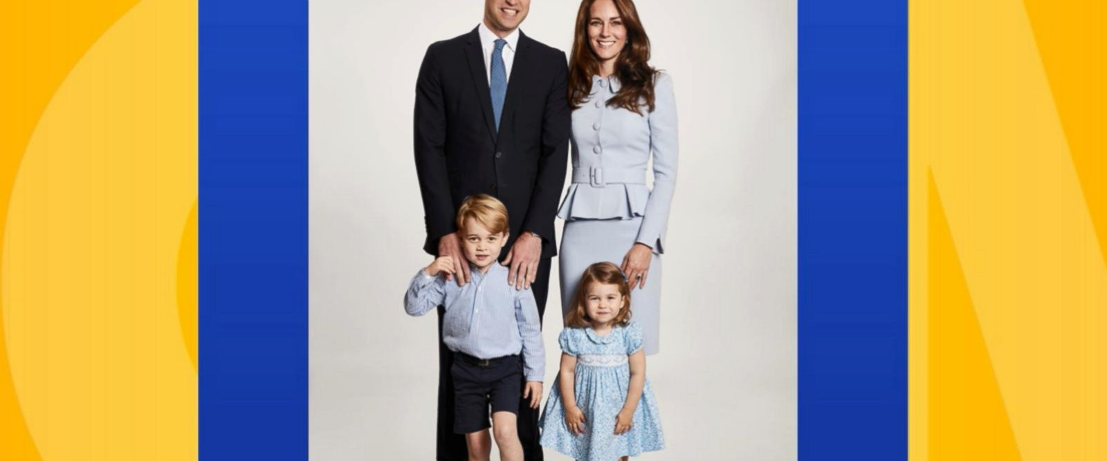VIDEO: Royals reveal adorable new Christmas card