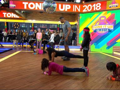 WATCH: Celebrity trainer Latreal Mitchell shares fun ways to work out at home