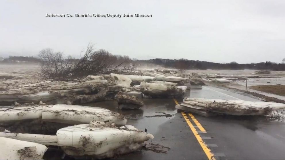 Major flooding in the Northeast, deep freeze to follow Video