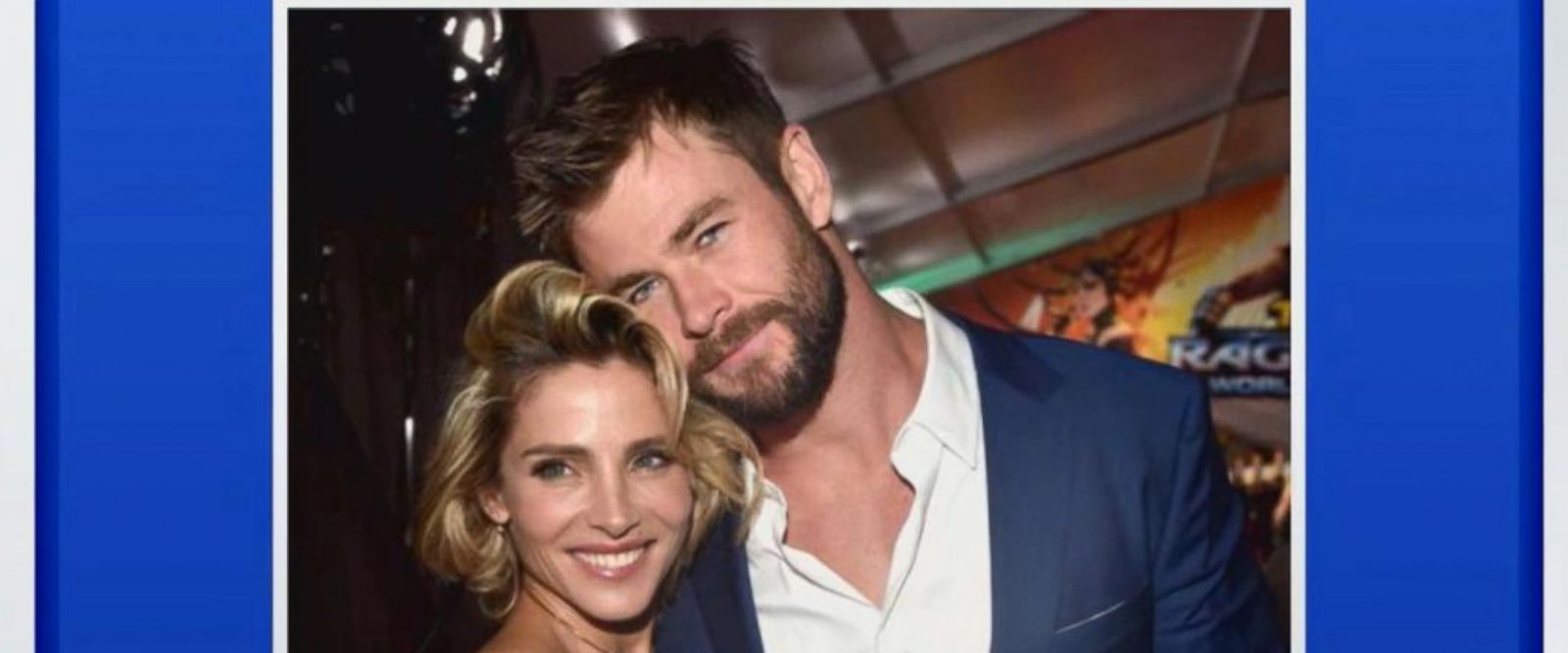 VIDEO: 'GMA' Hot List: Chris Hemsworth opens up about the 'onscreen chemistry' with his wife in '12 Strong'