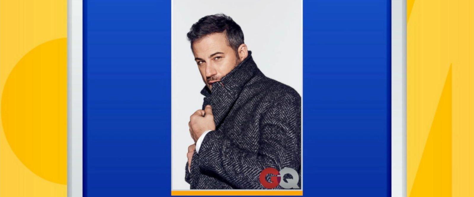 VIDEO: Jimmy Kimmel graces GQ magazine cover
