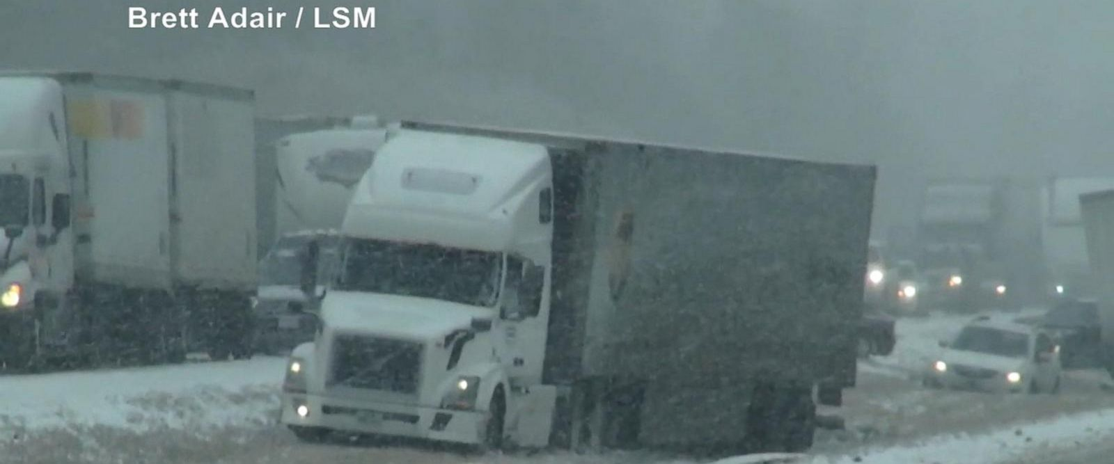 VIDEO: Top tips for safe driving in whiteout conditions