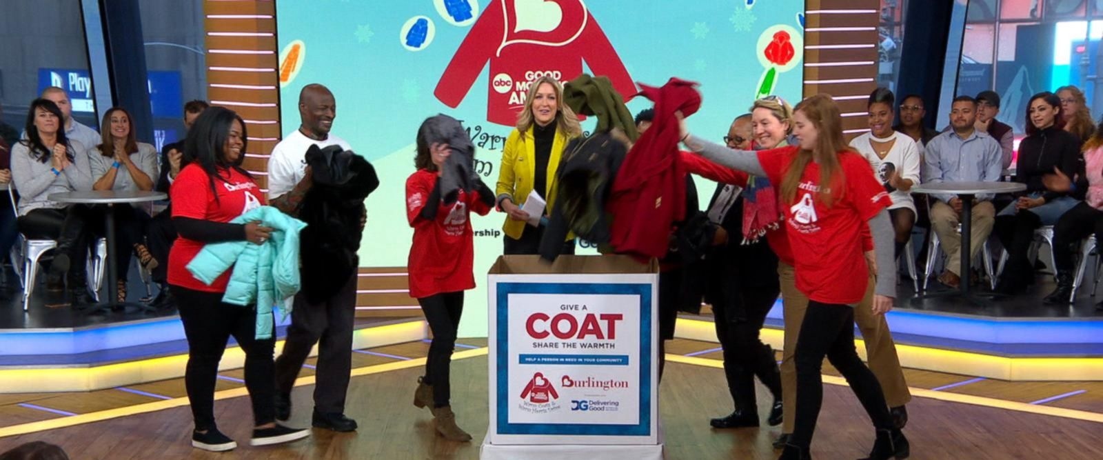 VIDEO: Over 160,250 coats donated this year through the Burlington Coat Drive