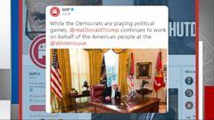 VIDEO: White House blames Democrats for shutdown