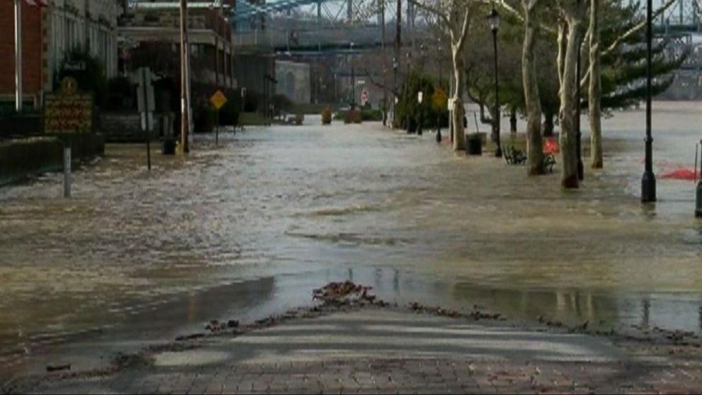 Severe weather and flooding in the Midwest and South