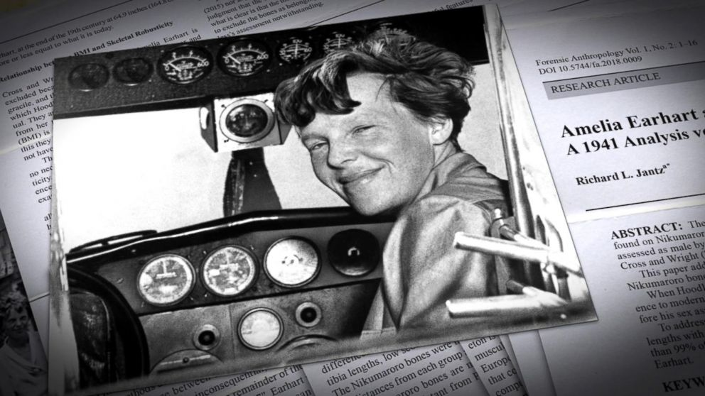 Professor claims to solve Amelia Earhart mystery