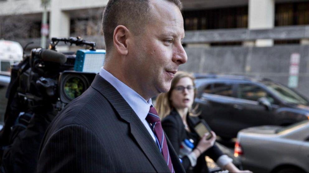 Former Trump aide Sam Nunberg appears before grand jury
