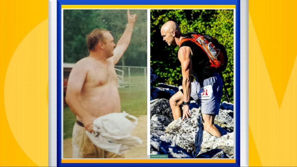 Meet the teacher who lost 100 pounds, then ran the Boston  Marathon