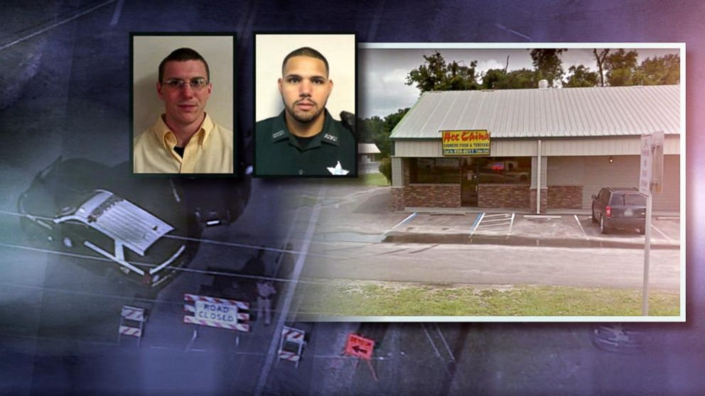 2 police  officers  killed  in restaurant