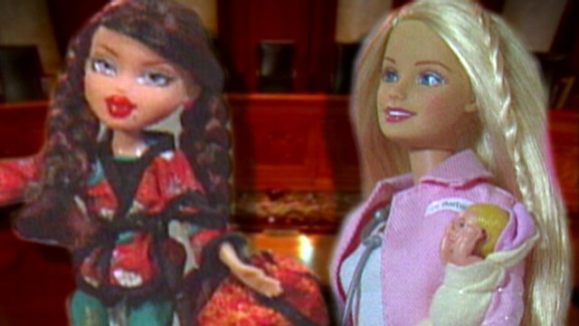 VIDEO: The makers of Barbie and Bratz are in a heated legal battle.